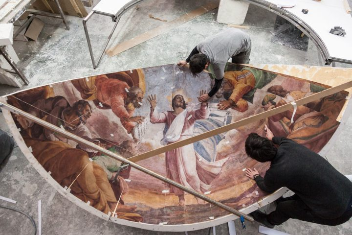 The reproduction of the Borgherini Chapel by Factum Arte (photo © Factum Arte)