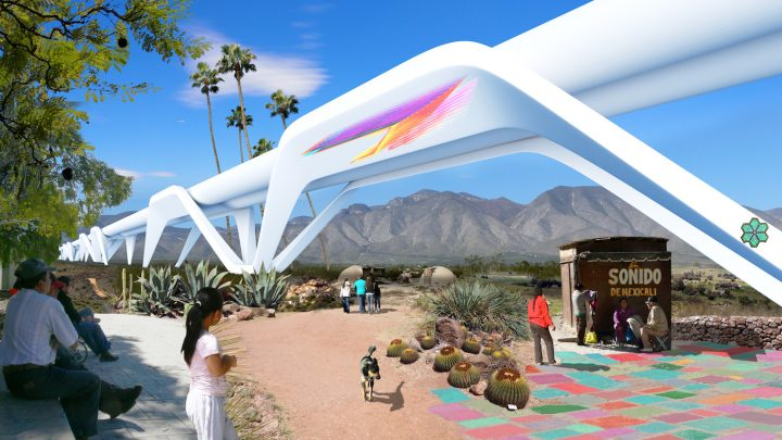 Rendering of the Otra Nation proposal (courtesy MADE Collective)