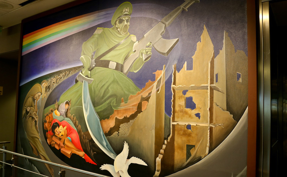 At the Denver Airport, Art Fuels Conspiracy Theorists