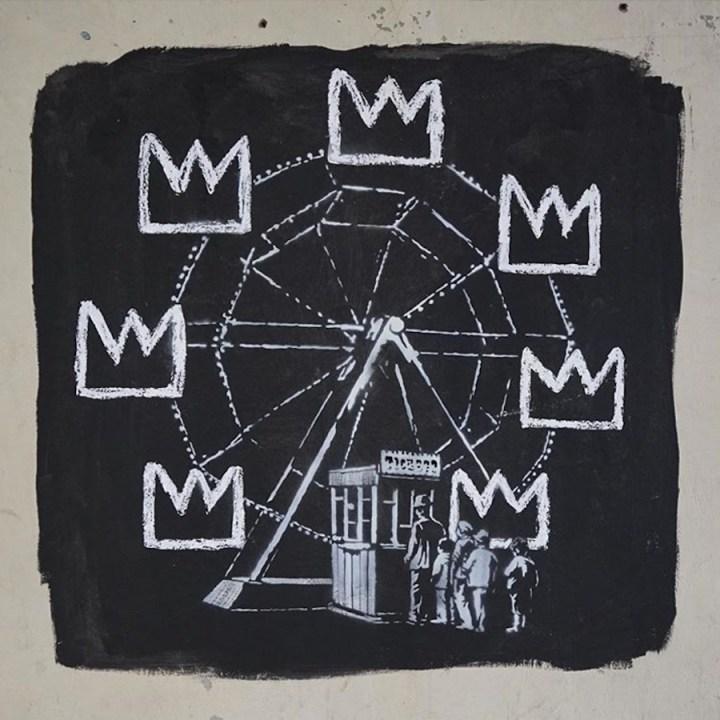 A new Banksy mural near the Barbican Centre (via @Banksy/Instagram)