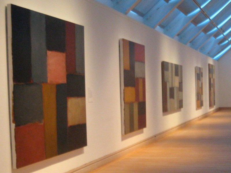 Works in Sean Scully's 2006 exhibition at the Metropolitan Museum (photo by Mark Barry/Flickr)