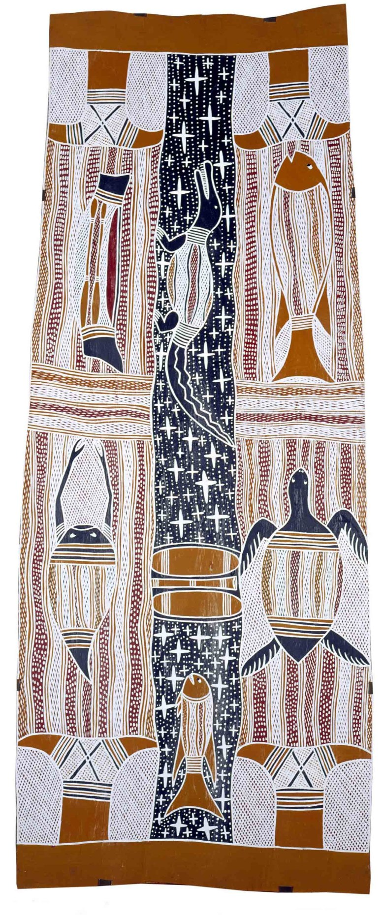 Milŋiyawuy, Naminapu Maymuru, ANMM Collection (Purchased with the assistance of Stephen Grant of the GrantPirrie Gallery, reproduced courtesy of the artist and Buku-Larrŋgay Mulka Art Centre)