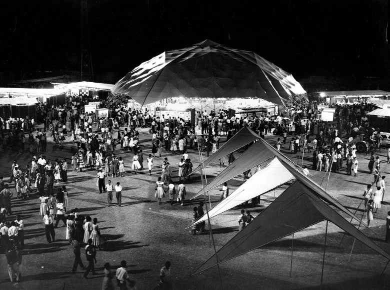 Canadian Trade Pavilion, Kingston, Jamaica (1959) (Jeffrey Lindsay & Associates, unknown photographer, courtesy Canadian Architectural Archives, the University of Calgary)