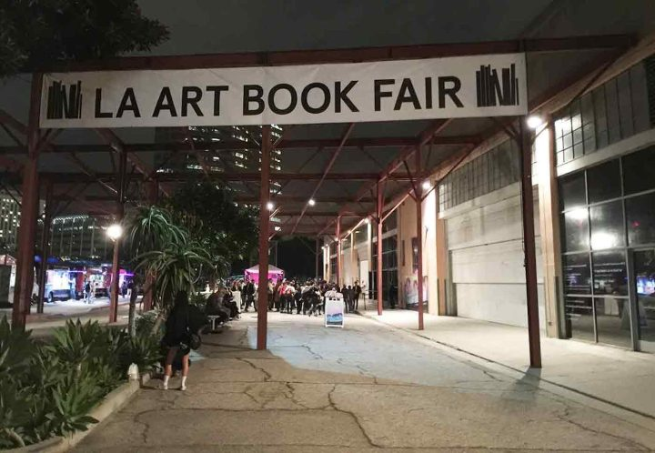 The entrance to the 2015 Los Angeles Art Book Fair (photo by Hrag Vartanian/Hyperallergic)