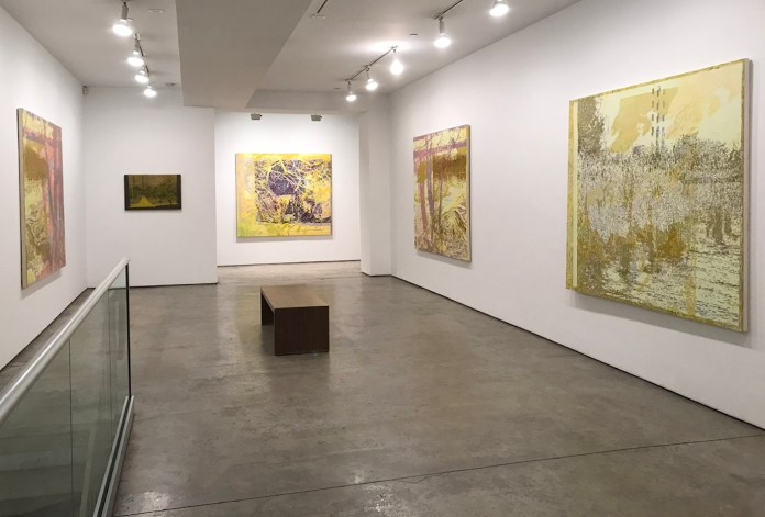 Installation view of Greg Lindquist's Of Ash and Coal at Lennon, Weinberg, Inc. (courtesy Lennon, Weinberg, Inc.)