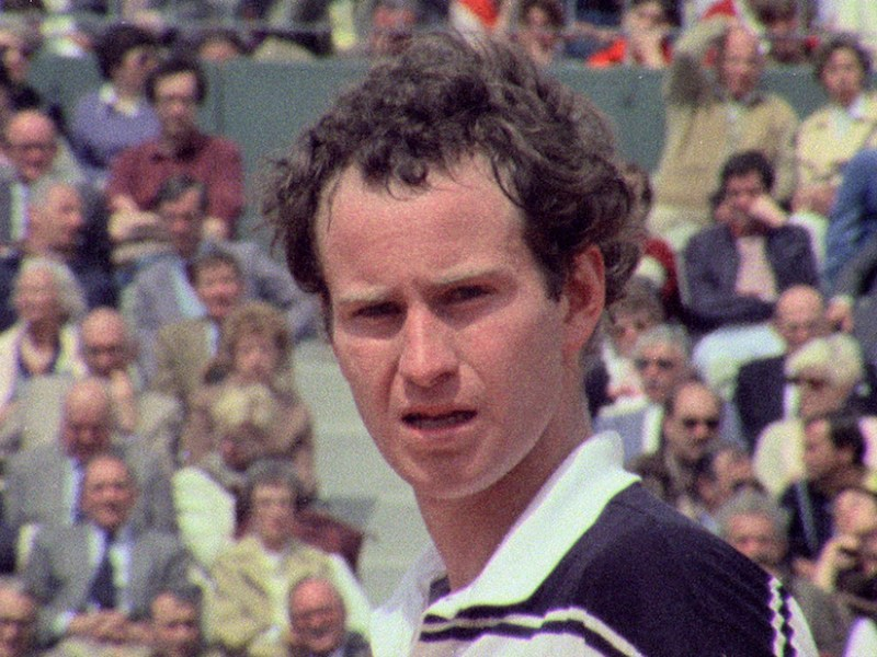 Still from John McEnroe: In the Realm of Perfection (all images courtesy Oscilloscope Laboratories)