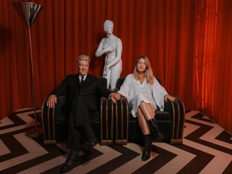 David Lynch and Sheryl Lee (photo courtesy of the David Lynch Foundation)