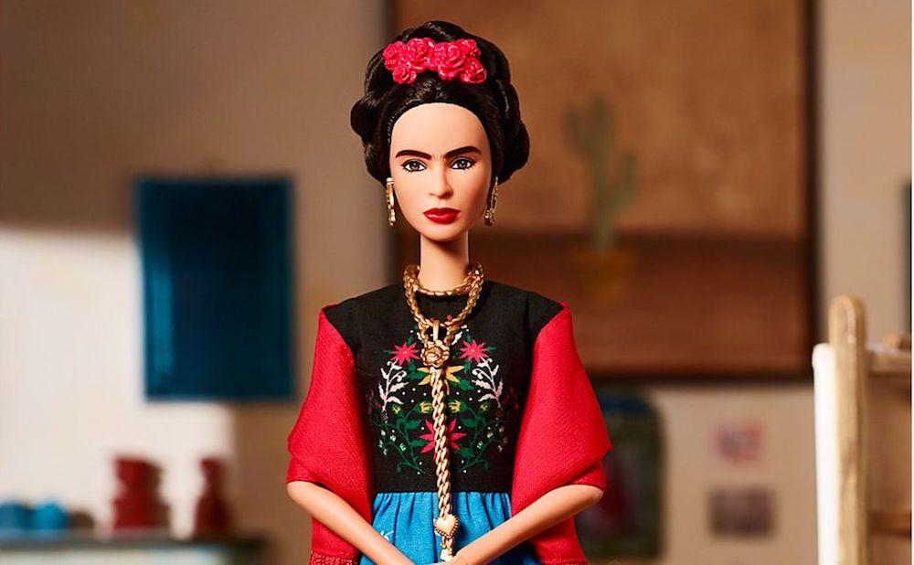 The Frida Kahlo Barbie (photo courtesy Mattel)