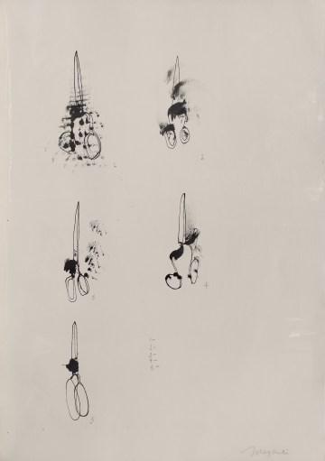 "Magali Lara, ""Tijeras"" (1977), artist's book, 23 pages, 50.4 x 35.5 cm (courtesy the artist)"