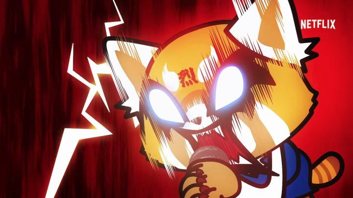 Cute Hello Kitty Face Wallpaper Cute Cartoon Animals Cope With Office Drudgery In Aggretsuko