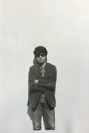 Portrait of T.C. Cannon (ca 1965) (courtesy of Archives of the Institute of American Indian Arts)