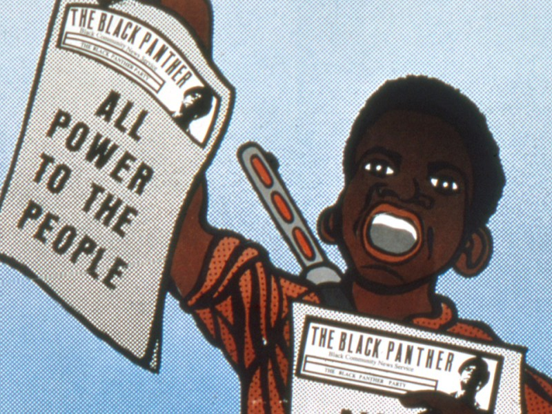 Black Panther Poster© 2018 Emory Douglas : Artists Rights Society (ARS), New York