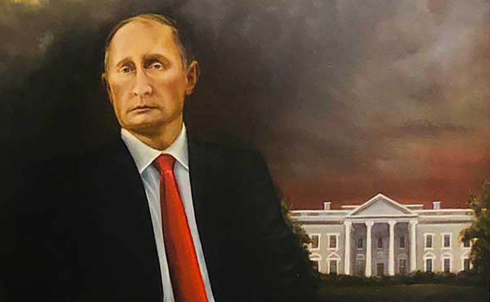 Artist Allegedly Hung A Putin Portrait In Trump Dc Hotel Suite And It Stayed Up For A Month