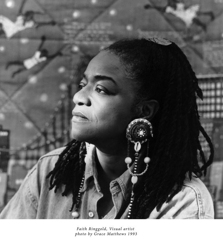 Faith Ringgold, visual artist (1993, photo by Grace Matthews)