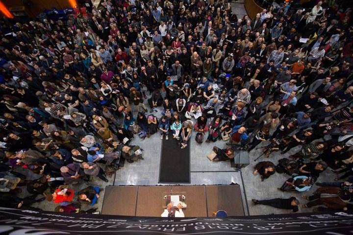 Brooklyn Public Library's Night of Philosophy, 2018 (all images images courtesy Brooklyn Public Library)