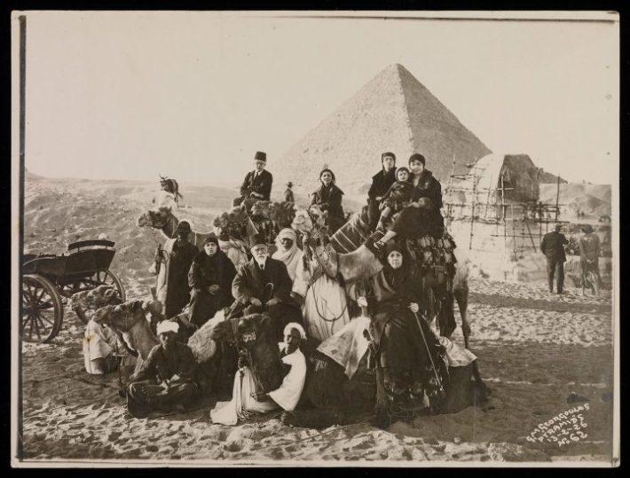 Pyramids (undated, c. 1870–1929), gelatin silver print