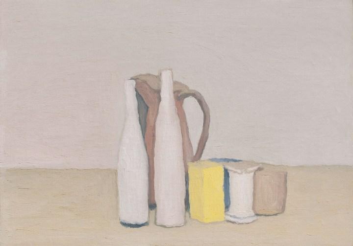 """Giorgio Morandi, """"Natura Morta"""" (1952), oil painting on canvas, 40 x 52 cm (image courtesy Christie's)"""