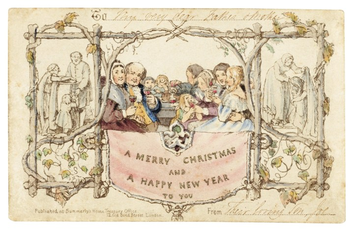 Did You Know the First Commercial Christmas Card Featured Underage Drinking?