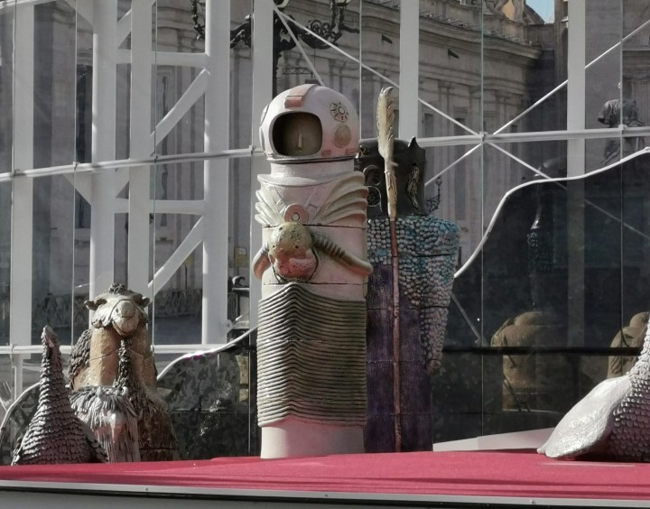 Why Is There An Astronaut in This Year's Vatican Nativity?