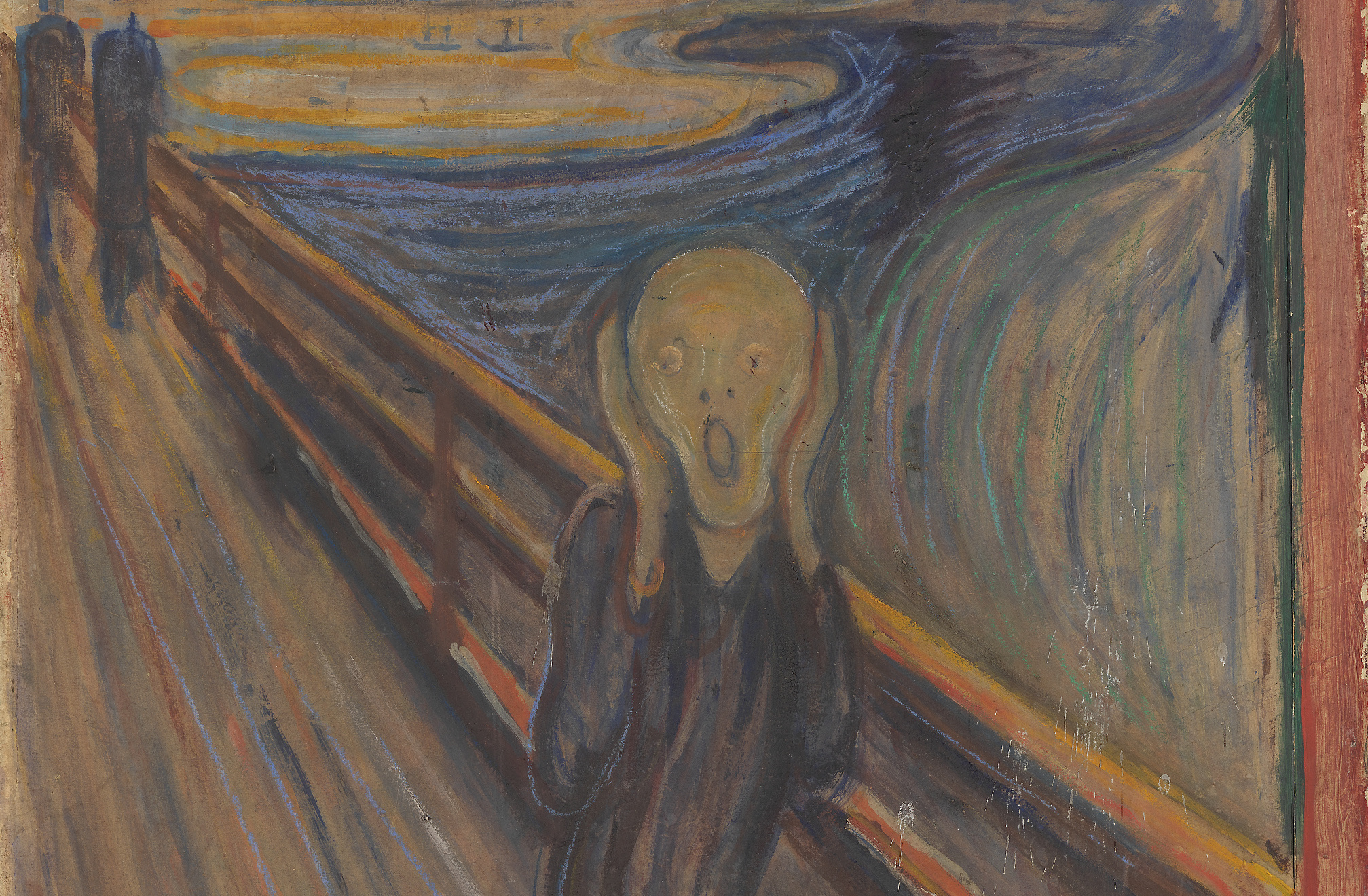 "hyperallergic.com: Hurt by Public Response to ""The Scream,"" Munch Inscribed Hidden ""Madman"" Message"