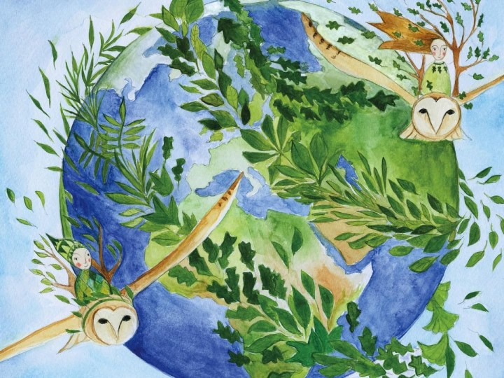 An Illustrated Children's Book on the Pandemic and Our Environmental Future