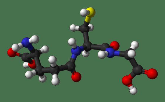 Glutathione-from-xtal-3D-balls hyperbaric studies