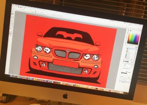 Hype Auto Art MG ZT in Imac