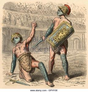 ancient-rome-the-roman-gladiator-fights-coloured-engraving-by-heinrich-gphy08