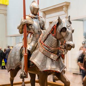 cavallo e cavaliere bravante