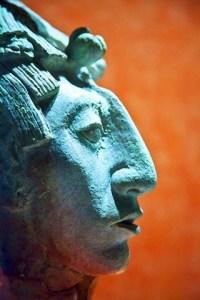 Mayan-Sculpture-Photograph-by-John-Bartosik-1