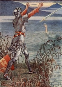 Walter-Crane-Sir-Bedevere-Casts-the-Sword-Excalibur-into-the-Lake-King-Arthurs-Knights-191
