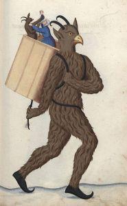 Weird-Medieval-Art-Nürnberger-Schembart-Buch-17th-century