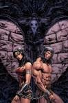 Conan e Wonder Woman in un crossover a fumetti