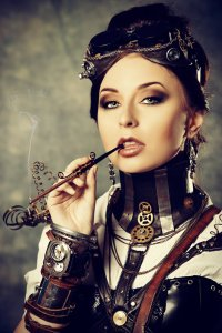 steampunk_girl_with_cigarett_by_luria_xxii-d6yybjj