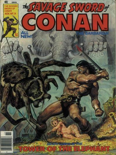 """""""Per Crom!"""" - Commento al ciclo di Conan il Cimmero #1 - La torre dell'Elefante"""