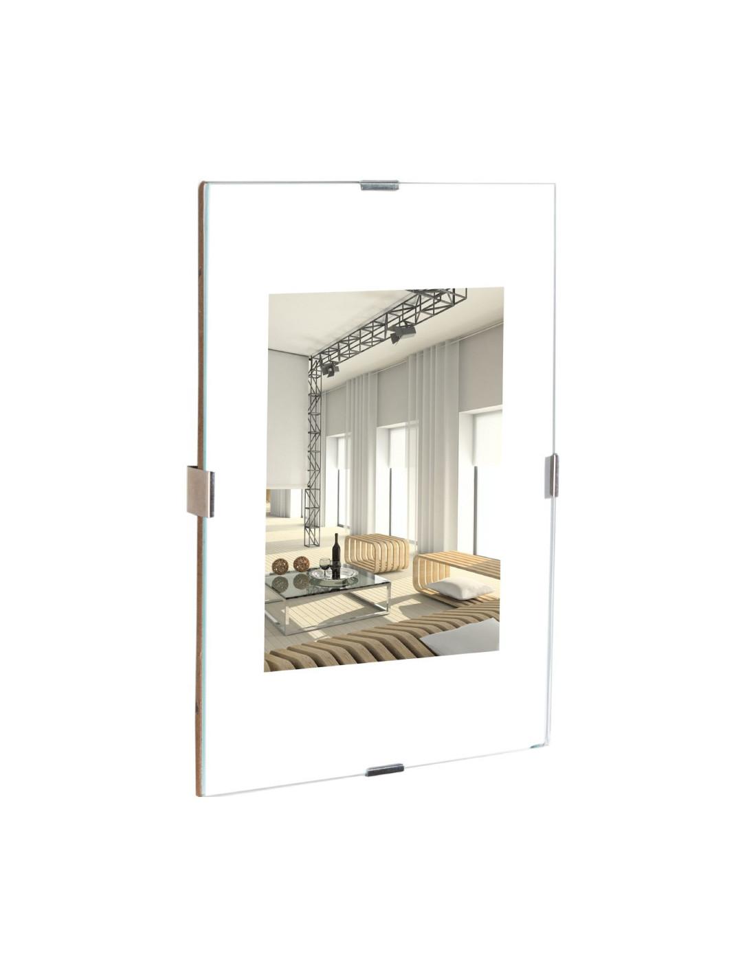 dozza cadre sous verre clips 35 x 50 cm verre