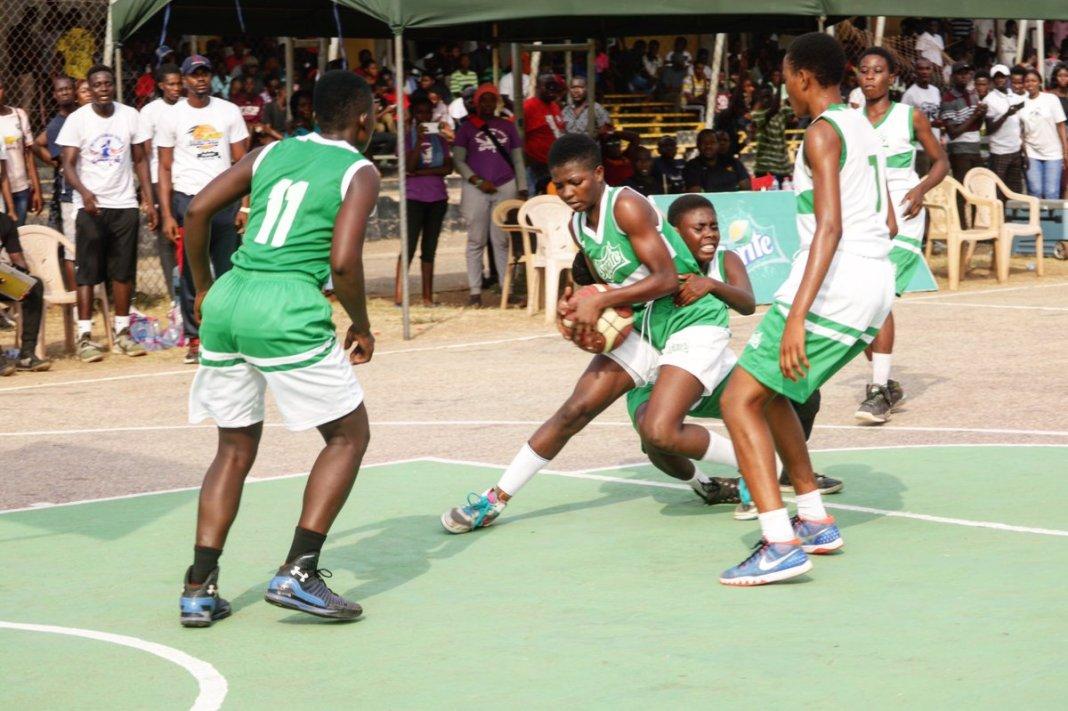 Kumasi Girls beat Mfantsiman 22 - 14 to repeat as Sprite Ball National Champions