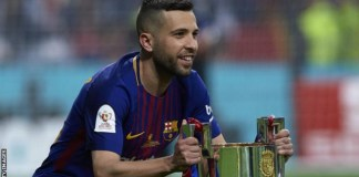 Barcelona full-back Alba signs new contract with £428m release clause