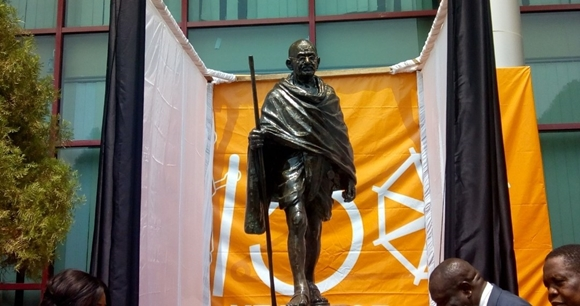 Mahatma Gandhi statue relocated to Kofi Annan Center of Excellence
