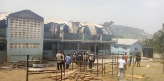 Breaking: Fire guts AGOGO Collins SHS boys dormitory; over 300 students displaced