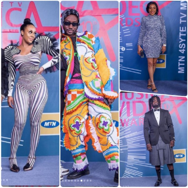 #MVAs19: Masquerades, Zebras and more photos from the 2019 4syte TV Music Video Awards