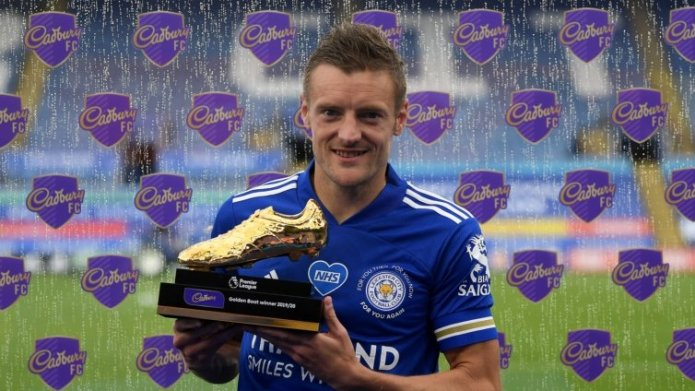 Leicester's Vardy becomes oldest Golden Boot winner