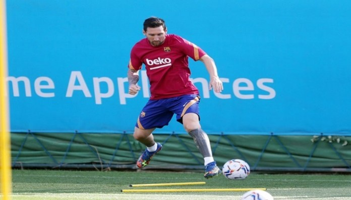 Messi set to make first Barca start since fallout
