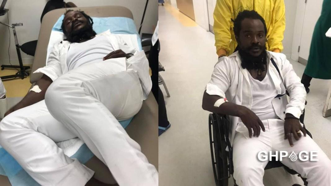 Ras Kuuku hospitalised after Asaase soundclash injury