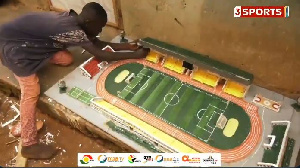 Desmond Amonoo to design a replica of Sports Stadium at Axim
