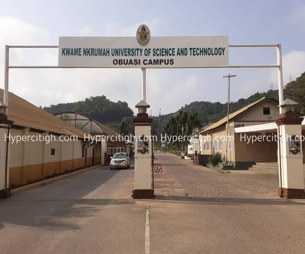 KNUST Obuasi campus images