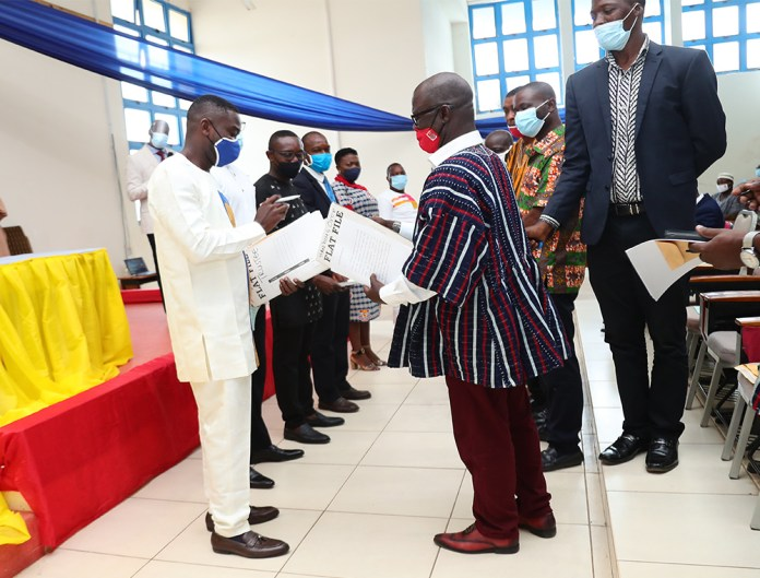 SSAUoG-UCC holds hand over and Swearing -in for new executives