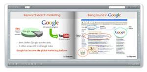 flash flip book exemple google