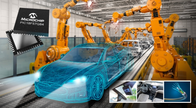 Equipped with an automotive interface, Microchips' CAN FD solution is able to alleviate vehicle powertrain CPUs by handling data transfer without its' assistance