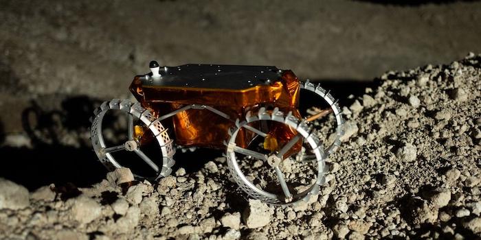 Astrobotic's 2U CubeRover